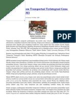 Optimalisasi Sistem Transportasi Terintegrasi Guna Mendukung MP3EI 14033 Id