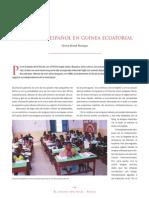 Idioma Español en Guinea Ecuatorial