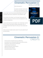 Cinematic Percussion 2
