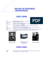 Sinopsis de La Historia Adventista