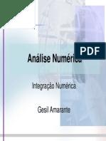 Análise Numérica_Integração Numérica