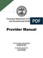 Provider Manual