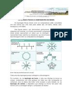 TOPOLOGIAS FÍSICAS E COMPONENTES DE REDES