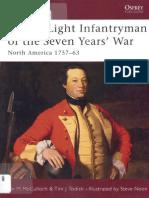 Osprey - Warrior 088 - British Light Infanfryman of the Seven Years' War - North America 1757-63 (E-book)