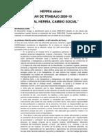 Plan de Trabajo 2009-2010