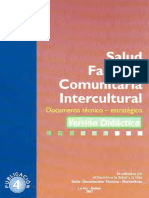 Salud Familiar Comunitaria Intercultural