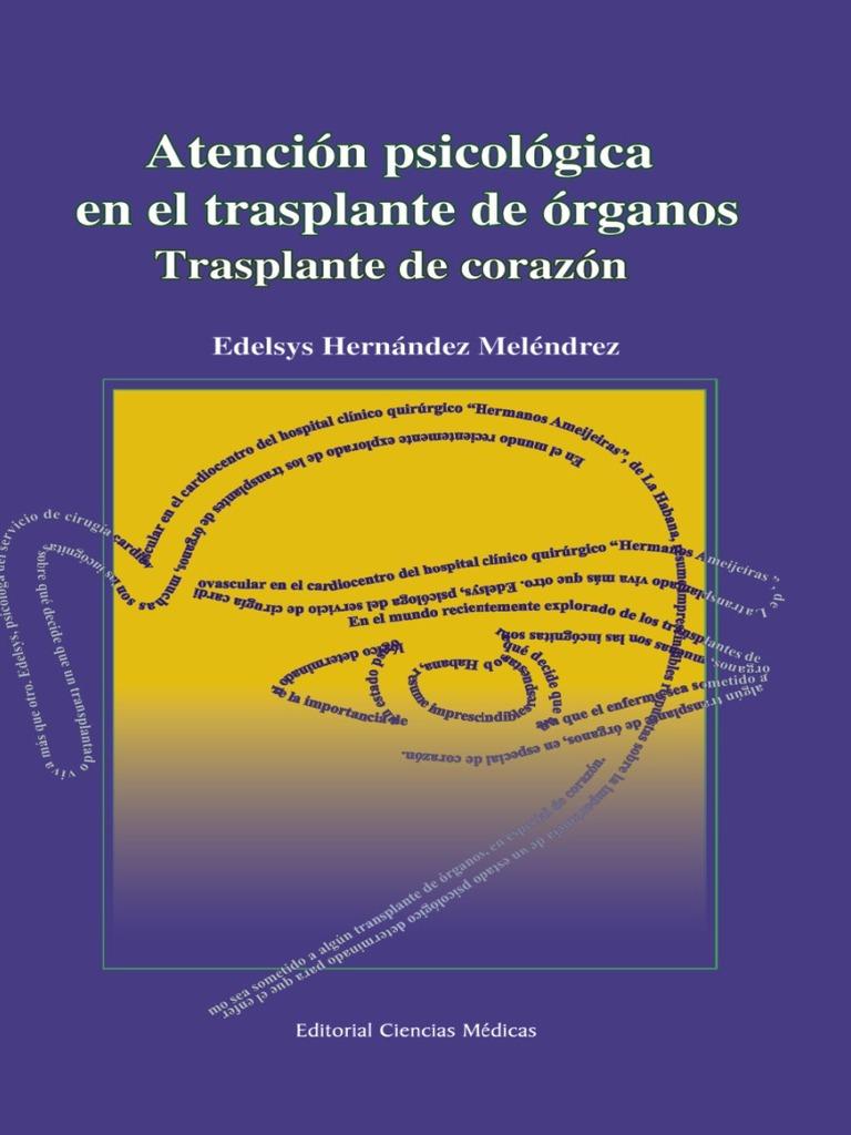 Atencion Psicologica en El Trasplante de Organos Trasplante de ...