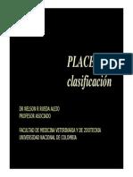 Clasificacion de Placentas