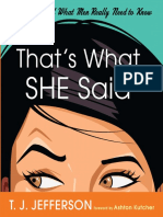 That's What She Said by T.J. Jefferson - Excerpt