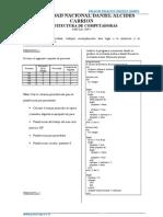 Examen final Arquitectura computadoras