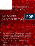 Complicaciones cardiacas en la insuficiencia renal crónica