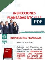 Sena Inspecciones Planeadas Ntc 4114 Ycm 2014
