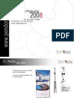 Catálogo Pendones 2008