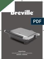 Breville BSG520-540XL Manual