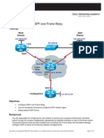 CCNPv6 ROUTE Lab3-4 OSPF Frame Relay Student Form