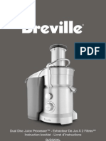 Breville BJE820XL Manual