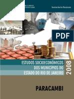Estudo Socioeconômico 2008 - Paracambi