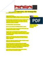 03-03-2014 Hoy Tamaulipas - Bernal y Guevara, sin trampolín.