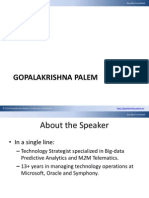 Gopalakrishna Bigdata Consultant