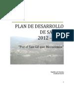 Plan Desarrollo San Gil 2012-2015