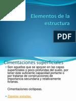 Elementos de La Estructura (1)