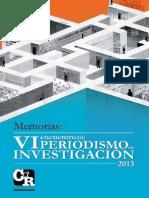 Memorias VI Encuentro Periodismo de Investigación - Digital