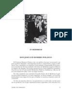 Revista Aragonesa de Medicina legal. Año 2009_2010, Número 9-10. Dedicado a En homenaje al Prof. J. L. Romero Palanco. Presente y futuro del ejercicio de la Medicina Legal y Forense en España