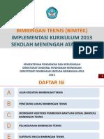 Bimtek Implementasi Kurikulum 2013 Sma 1