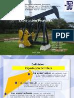 Exportacion de Petroleo