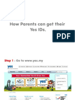 How Parents Can Get Their YES IDs