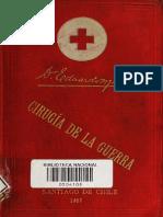 Cirugía de guerra. (1897)