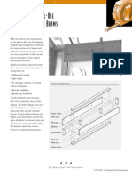 Plywood Beam Design