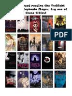 Twilight Read Alikes