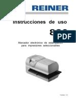 REINER Instrucciones de Uso 880