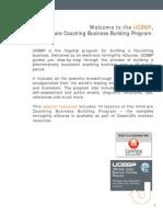 Ultimate Coaching Business Building Program