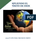 CUMPLIENDO EL PROPÓSITO DE DIOS