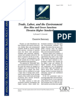 Trade, Labor, and the Environment