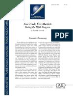 Free Trade, Free Markets