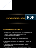 ESTABILIZACIÓN DE SUELOS