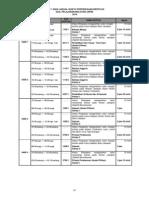 Jadual Waktu Peperiksaan SPM 2014 (Draf 1 )