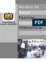 Modelo de Salud Familiar Comunitaria Intercultural