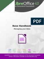 LibreOffice - Base handbook