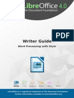 LibreOffice - Writer Guide