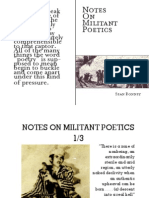Bonney - Notes on Militant Poetics (Read)