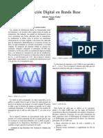 Modulación Digital en Banda Base