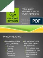 WQ14 WRD104 Revisions
