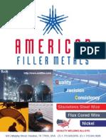 Ameriacan Filler Metal