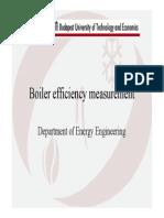 Boiler Efficiency Measurement