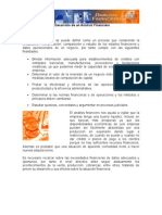 Herramientas para el Desarrollo de un Análisis Financiero