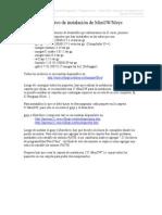 Instructivo MinGW Msys p3 2010
